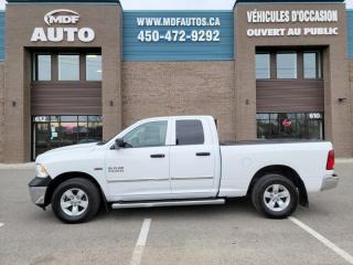 Used 2016 RAM 1500 Cabine quad 4RM, 140,5 po ST for sale in St-Eustache, QC