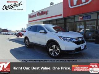 Used 2018 Honda CR-V LX AWD for sale in Peterborough, ON