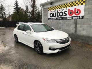 Used 2016 Honda Accord Touring I4 4 portes Automatique for sale in Laval, QC