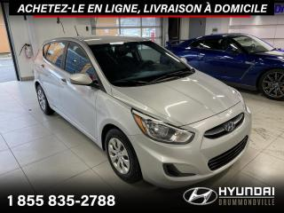 Used 2016 Hyundai Accent GL + GARANTIE + A/C + CRUISE + GROUPE EL for sale in Drummondville, QC