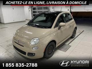Used 2012 Fiat 500 SPORT + GARANTIE + CUIR + TOIT + WOW !! for sale in Drummondville, QC