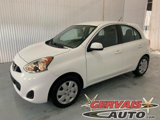 Used 2016 Nissan Micra SV A/C Bluetooth Automatique for sale in Trois-Rivières, QC