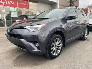 Used 2017 Toyota RAV4 Hybrid AWD Limited for sale in Longueuil, QC
