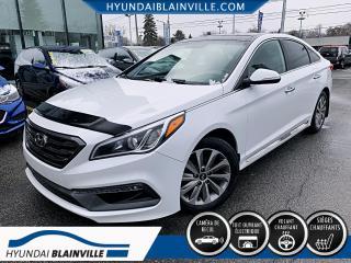Used 2015 Hyundai Sonata SPORT CUIR, CAMÉRA DE RECUL, TOIT, MAGS+ for sale in Blainville, QC