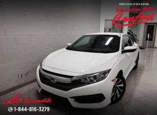 Used 2016 Honda Civic LX 2 portes CVT for sale in Chicoutimi, QC