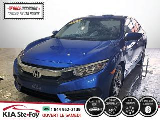 Used 2016 Honda Civic LX* SIEGES CHAUFFANTS* CAMERA DE RECUL* for sale in Québec, QC