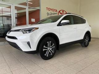 Used 2017 Toyota RAV4 * AWD * LE * CAMERA DE RECUL * SIEGES CHAUFFANTS * for sale in Mirabel, QC