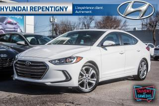Used 2018 Hyundai Elantra GLS Auto* CUIR TOIT OUVRANT MAGS CLIM. BI ZONE for sale in Repentigny, QC
