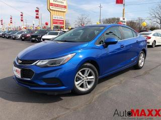 Used 2017 Chevrolet Cruze LT - REMOTE START, REAR CAMERA, CRUISE CONTROL! for sale in Windsor, ON