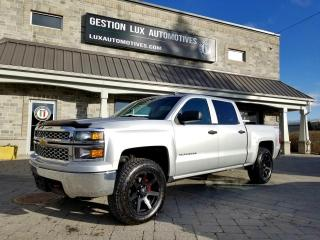Used 2014 Chevrolet Silverado 1500 V8 5.3L 4x4 Crew Cab LT Lift Kit Mags LE for sale in St-Eustache, QC