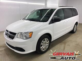 Used 2017 Dodge Grand Caravan SXT A/C Stow N Go 7 Passagers for sale in Shawinigan, QC