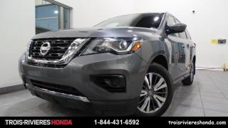 Used 2018 Nissan Pathfinder S + 2WD + BLUETOOTH + CAMERA + DEMARREUR for sale in Trois-Rivières, QC