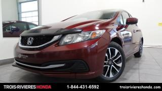 Used 2014 Honda Civic EX + BLUETOOTH + CAMERA RECUL ! for sale in Trois-Rivières, QC