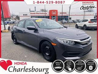 Used 2016 Honda Civic LX **UN PROPRIÉTAIRE** for sale in Charlesbourg, QC