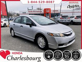 Used 2010 Honda Civic DX-G AUTOMATIQUE***66 905 KM*** for sale in Charlesbourg, QC