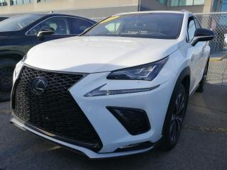 Used 2019 Lexus NX **F SPORT 2** *APPLE CARPLAY*GPS*CUIR ROUGE*SYSTEME PRE COLLISION*ANGLE MORT*CAMERA DE RECUL*VOLANT CHAUFFANTS* for sale in Montréal, QC