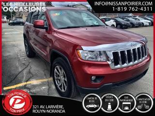 Used 2013 Jeep Grand Cherokee Laredo (frais vip 395$ non inclus) for sale in Rouyn-Noranda, QC