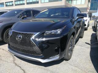 Used 2017 Lexus NX 200t **F SPORT 3** *NAVIGATION*SYSTEME PRE COLLISION*ANGLE MORT*SONAR STATIONEMENT*TOIT*VOLANT CHAUFFANT*BANCS VENTILÉ* for sale in Montréal, QC