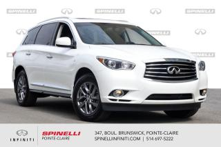 Used 2014 Infiniti QX60 AWD / LEATHER BAS KILO / AWD / 7 PASSAGERS for sale in Montréal, QC