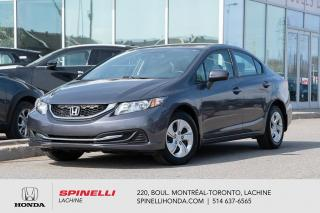 Used 2015 Honda Civic LX AUTO TRES BAS KM AUTO BAS KM CRUISE BLUETOOTH for sale in Lachine, QC