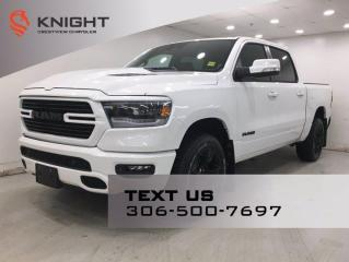 New 2021 RAM 1500 Sport Crew Cab | Leather | Navigation | for sale in Regina, SK