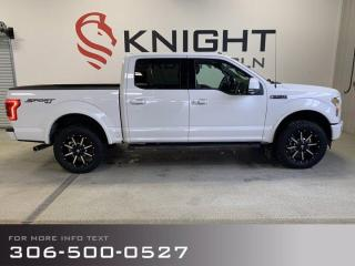 Used 2017 Ford F-150 Lariat, Leveling Kit, After Market Rims, Nice!!! for sale in Moose Jaw, SK