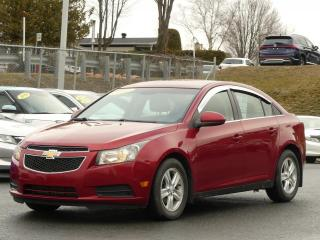 Used 2011 Chevrolet Cruze LT TURBO AIR CLIMATISE for sale in St-Georges, QC