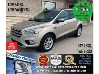 Used 2017 Ford Escape SE*Heated Seats/Satellite Radio/NAVIGATION for sale in Winnipeg, MB