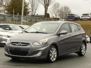Used 2014 Hyundai Accent GLS TOIT OUVRANT BAS KILO! for sale in St-Georges, QC