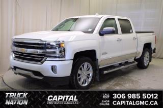 Used 2017 Chevrolet Silverado 1500 High Country Crew Cab *LEATHER*SUNROOF* for sale in Regina, SK