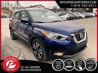 Used 2018 Nissan Kicks SV (frais vip 395$ non inclus) for sale in Rouyn-Noranda, QC