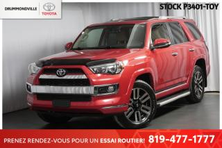 Used 2016 Toyota 4Runner LIMITED| CUIR| TOIT for sale in Drummondville, QC