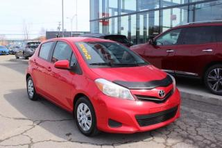 Used 2014 Toyota Yaris Hayon 5 portes,, LE 69 000km a bas prix for sale in Lévis, QC