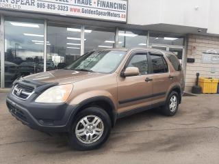 Used 2002 Honda CR-V EX~ Winter and Summer tires~ for sale in Oakville, ON