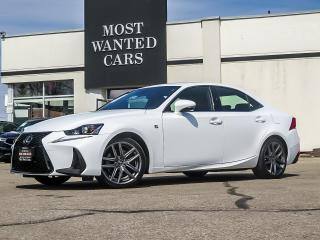 Used 2017 Lexus IS F-SPORT|BLINDSPOT|RED LEATHER for sale in Kitchener, ON