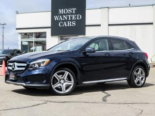 Used 2017 Mercedes-Benz GLA 250 4MATIC|AMG RIMS|NAV|BLIND|CAMERA|PANO for sale in Kitchener, ON