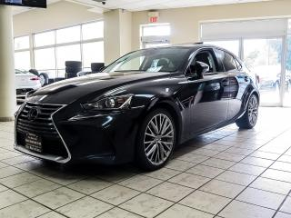 Used 2018 Lexus IS 300 AWD | COOLED SEATS | SUNROOF | PADDLE SHIFTER | LANE DEP. for sale in Kitchener, ON