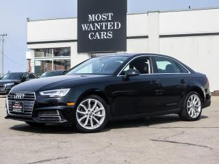 Used 2018 Audi A4 PROGRESSIVE|NAV|BLIND|CAMERA|PANO for sale in Kitchener, ON