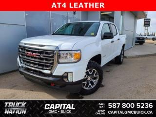 New 2021 GMC Canyon Crew Cab 4WD AT4 w/Leather for sale in Edmonton, AB