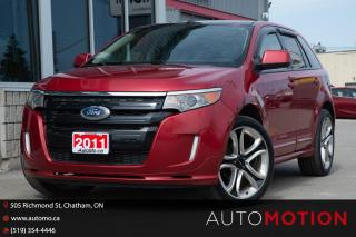 Used 2011 Ford Edge SPORT for sale in Chatham, ON