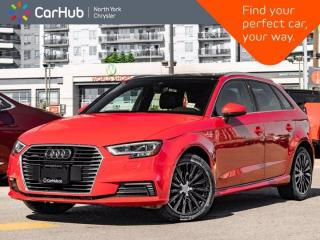 Used 2018 Audi A3 Sportback e-tron Technik Heated Seats Sunroof Bang & Olufsen Navigation for sale in Thornhill, ON