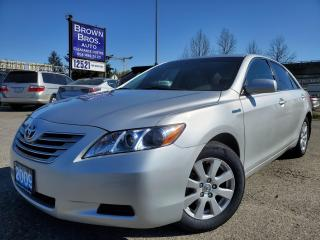 Used 2009 Toyota Camry HYBRID, LOCAL for sale in Surrey, BC