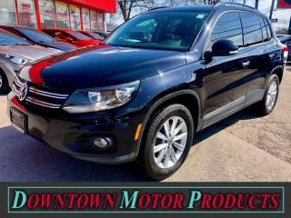 Used 2014 Volkswagen Tiguan Highline 4WD for sale in London, ON