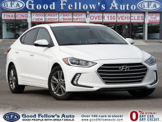 Used 2017 Hyundai Elantra Zero Down Car Financing ..! for sale in Toronto, ON