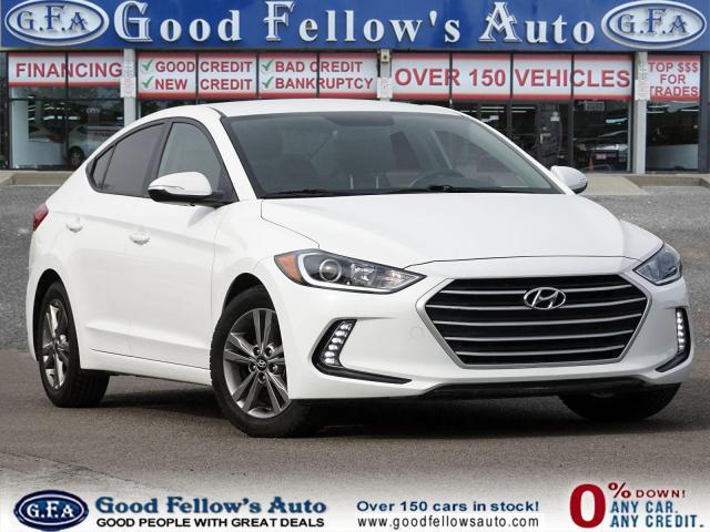 2017 Hyundai Elantra Zero Down Car Financing ..!