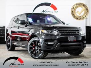 Used 2016 Land Rover Range Rover Sport V8 Supercharged/Dynamic/Navigation for sale in Vaughan, ON