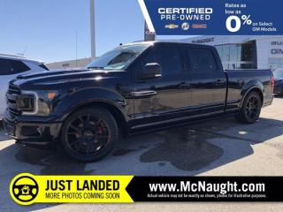Used 2019 Ford F-150 XLT Roush Package 4x4 Crew Cab | Heated Seats | Navigation | for sale in Winnipeg, MB