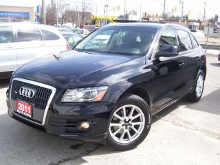 Used 2011 Audi Q5 2.0L PREMIUM PLUS,AWD,LEATHER,TINTED, CERTIFIED for sale in Kitchener, ON