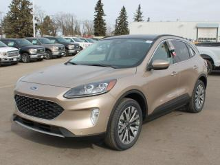 New 2021 Ford Escape Titanium | Hybrid | AWD | Sunroof | Heated Leather Seats/Steering | NAV | Wireless Charging for sale in Edmonton, AB