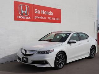 Used 2017 Acura TLX V6 Tech NO ACCIDENTS!! LOW KMS, LEATHER, SUNROOF for sale in Edmonton, AB